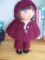 Autumn in Allegheny -15 inch doll - Free Original Patterns - Crochetville