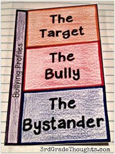 3rd Grade Thoughts: Bullyproofing Lessons With Our Interactive Health Notebooks