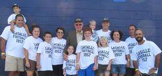 LaSalle Football 1957 custom shirt. Flashback! Thanks for your picture! rushordertees.com