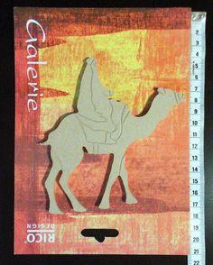 Rico Design Galerie Holzdeko Beduine auf Kamel