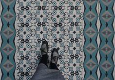 Carrelage imitation carreau ciment sol et mur 20 x 20 cm for Carrelage fn
