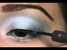 2772eb8fa46b Alice in Wonderland makeup inspired tutorial. Winter Wonderland BallAlice  ...