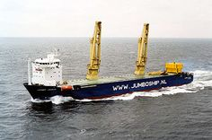 One of the most powerfull heavy lift ships in the world.
