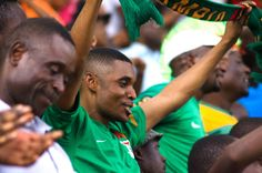 excited fans at levy mwanawasa