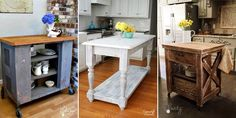 Here you will find 15 DIY kitchen islands that you can build yourself - without breaking the bank.