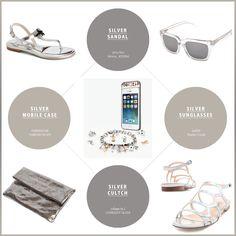 silver color fashion item :)