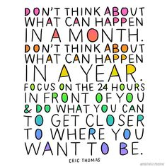 Feeling anxious about the week ahead? This quote is for you!