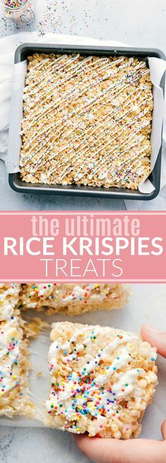 the ultimate rice krispies treats
