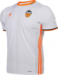 The new Valencia 16-17 jerseys introduce bold and striking designs that incorporate orange, made by kit supplier Adidas.