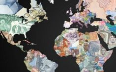 The world mapped in each country's currency.