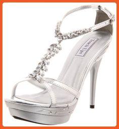 Touch Ups Women's Patsy Platform Sandal,Silver Metallic,8 M US - Sandals for women (*Amazon Partner-Link)