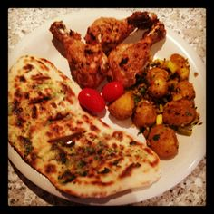 Tandoori Chicken with Bombay Potatoes