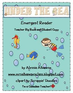 This is a perfect companion reader for your Under the Sea theme!  The book introduces some creatures found under the sea.  The teacher big book is ...