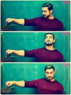 ❤️Aamir Khan❤️❤️ Famous Movies, Hrithik Roshan, Bollywood Actors, Shahrukh Khan, Indian Actresses, My Idol, Movie Stars, Fraternity, Man Candy