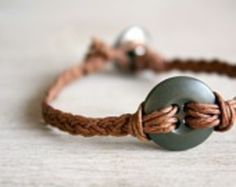 Button Bracelet