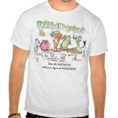 Millions Against Monsanto Tshirts