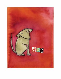 Dog Art Print - Rosenberry