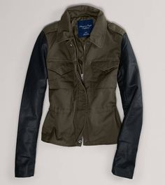 AE Military Jacket on sale at American Eagle for $55