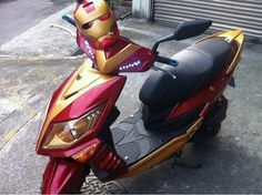 Scooter Iron Man