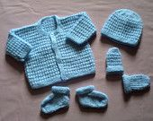 Hand Knitted Scottish Knitwear  baby booties knitting