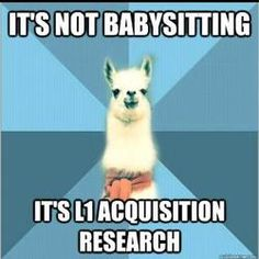 linguistics haha