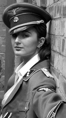 Fetish girls uniform nazi