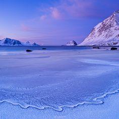 Haukland Beach – Vestvågøy, Lofoten Islands, Norway