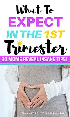30 Moms Share What To Expect In The First Trimester Of Pregnancy - Todays Work At Home Mom Pregnancy Must Haves, Pregnancy Advice, Pregnancy Style, Pregnancy Fashion, Pregnancy Outfits, Maternity Fashion, Pregnancy Care, Pregnancy First Trimester, Trimesters Of Pregnancy