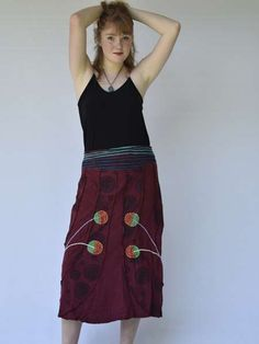 Shop for unique hippy clothes from Nepal. Buy clothing for women and mens shirts and pants. Free postage anywhere in South Africa Hippie Clothes Online, Hippie Clothing Stores, Online Clothing Stores, Hippie Skirts, Hippie Outfits, Hippy, South Africa, High Waisted Skirt