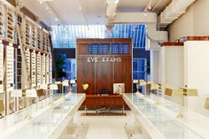 Long, winding, and an inspired interior / Warby Parker flagship store New York 02 Warby Parker flagship store, New York / Retail Design Blog