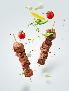 Discover recipes, home ideas, style inspiration and other ideas to try. Aid Adha, Photographer Packaging, Food Promotion, Beef Skewers, Food Banner, Kebab, Food Gallery, Food Advertising, Food Backgrounds