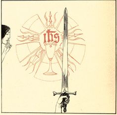 """Willy Pogany, 1914, from the book, """"The Tale Of Lohengrin, Knight Of The Swan…""""   http://41.media.tumblr.com/5918858207741685bfbdb3d1f1bb853d/tumblr_mjvg61oKke1rz5qxqo1_500.jpg"""