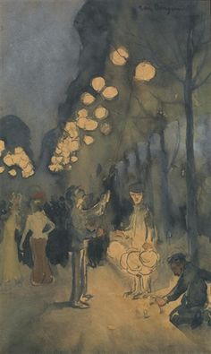 Kees van Dongen - Fête à Montmartre, 1901.