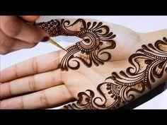 Best Mehndi Designs, Arabic Mehndi Designs, Mehndi Designs For Hands, Hand Mehndi, Henna, Beautiful Mehndi Design, Mehendi, Tribal Tattoos, Elegant