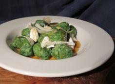 Recipe: wild garlic and nettle gnocchi