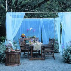 26 Ingenious Ways to Use  Bright Fabrics Outdoors This Summer homesthetics decor (10)