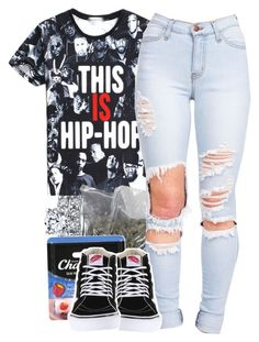 """""""•"""" by babygirlslayy ❤ liked on Polyvore featuring Chapstick and Vans"""