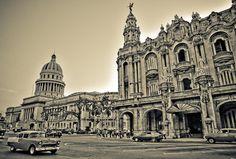 GRAN TEATRO DE LA HABANA, Havana, Cuba by somebody_, via Flickr