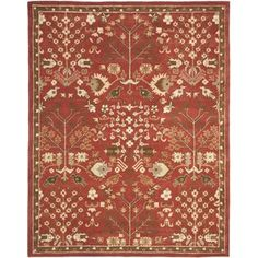 With rich, luscious detailing and a vibrant feel, this collection brings life to any space. Hand-tufted of pure wool with strong cotton backing, these traditionally beautiful rugs can withstand even the mos #life #brings #collection