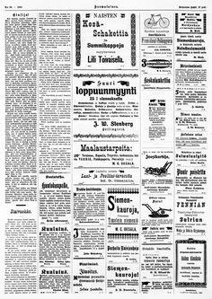 27.04.1900 Suomalainen no 48 - Sanomalehdet - Digitoidut aineistot - Kansalliskirjasto Bullet Journal