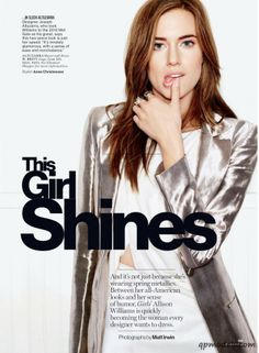 Allison Williams for Glamour US (March 2014) - http://qpmodels.com/celebrity/allison-williams/5948-allison-williams-for-glamour-us-march-2014.html