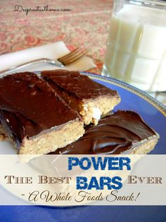 The Best Power Bars Ever ~ A Whole Foods Snack! | Deep Roots at Home