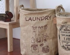 Grande taille 100 % jute naturel eco amical grand espace linge vêtements bin / jute bin/blanchisserie stockage binP069