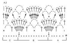 Gehaakte DROPS top met waaiers en sterrenpatroon van Cotton Light. Maat: S - XXXL. Gratis patronen van DROPS Design.