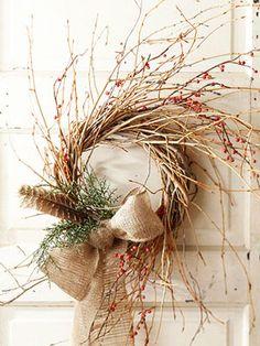 wild berry wreath