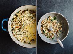 Roasted Cauliflower Pasta // Sprouted Kitchen