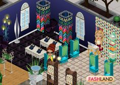 You can divide your boutique if you want to use decorative items from different styles, but don't want to mix them up! #fashland #fashion #facebook #makeup #dressup #competition #social #dresstoimpress #moda #event #fashcup #fashioninspiration #style #game #gaming #design #interiordesign #designer
