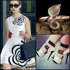 Very elegant white dress
