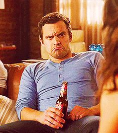 Pin for Later: 50 Reasons You Can't Stop Crushing on Nick Miller He Has the Funniest Facial Expressions