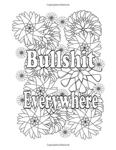 I Love to F*cking Color!: And Relax with My Swear Word Adult Coloring Book. (F*ck Off! I'm Coloring) (Volume Swear Word Coloring Book, Love Coloring Pages, Truck Coloring Pages, Printable Adult Coloring Pages, Coloring Books, Coloring Sheets, Coloring Stuff, Colouring, Valentines Day Coloring Page